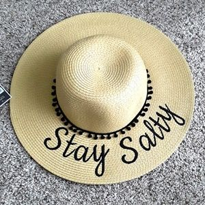 Stay Salty Floppy Beach Sun Hat New